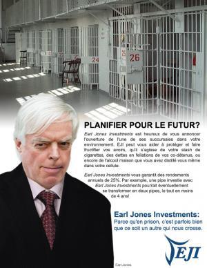 La publicité française produite par Earl Jones