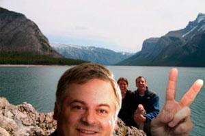 Des cas ont été recensés jusqu'à Banff en Alberta.