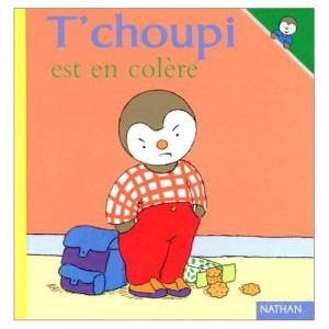 Tchoupi a un sale caractère.