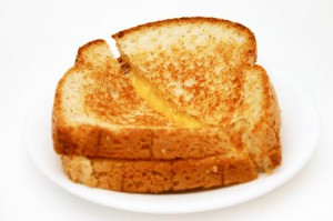 Il est très bon ton grilled-cheese.