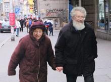 Françoise David et Pierre Mailloux à une époque plus heureuse.