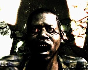 Un zombie fou.