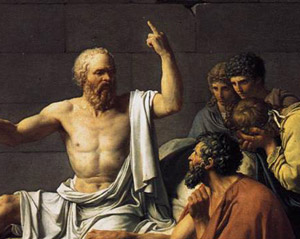 Socrate n'était pas un doux.