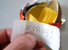 Touchés par la récession, les oeufs Kinder doivent couper dans les surprises