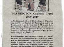 Avis de décès: Capitals de Washington