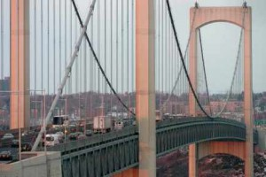 Un bouchon de fou jusqu'au Pont