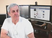 Gilles Daviault trouve que Facebook mange de jugement