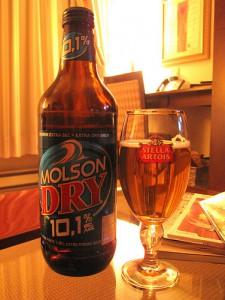 Molson Dry 10.1