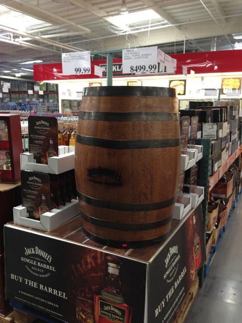 Goyette Oenologue Le Baril De Jack Daniels Au Costco